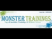 Online It courses – Learn Sofware courses online@monstertrainings.com