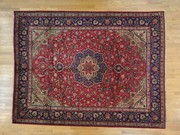 Persian Tabriz Full Pile 100 Percent Wool Handmade Oriental rug